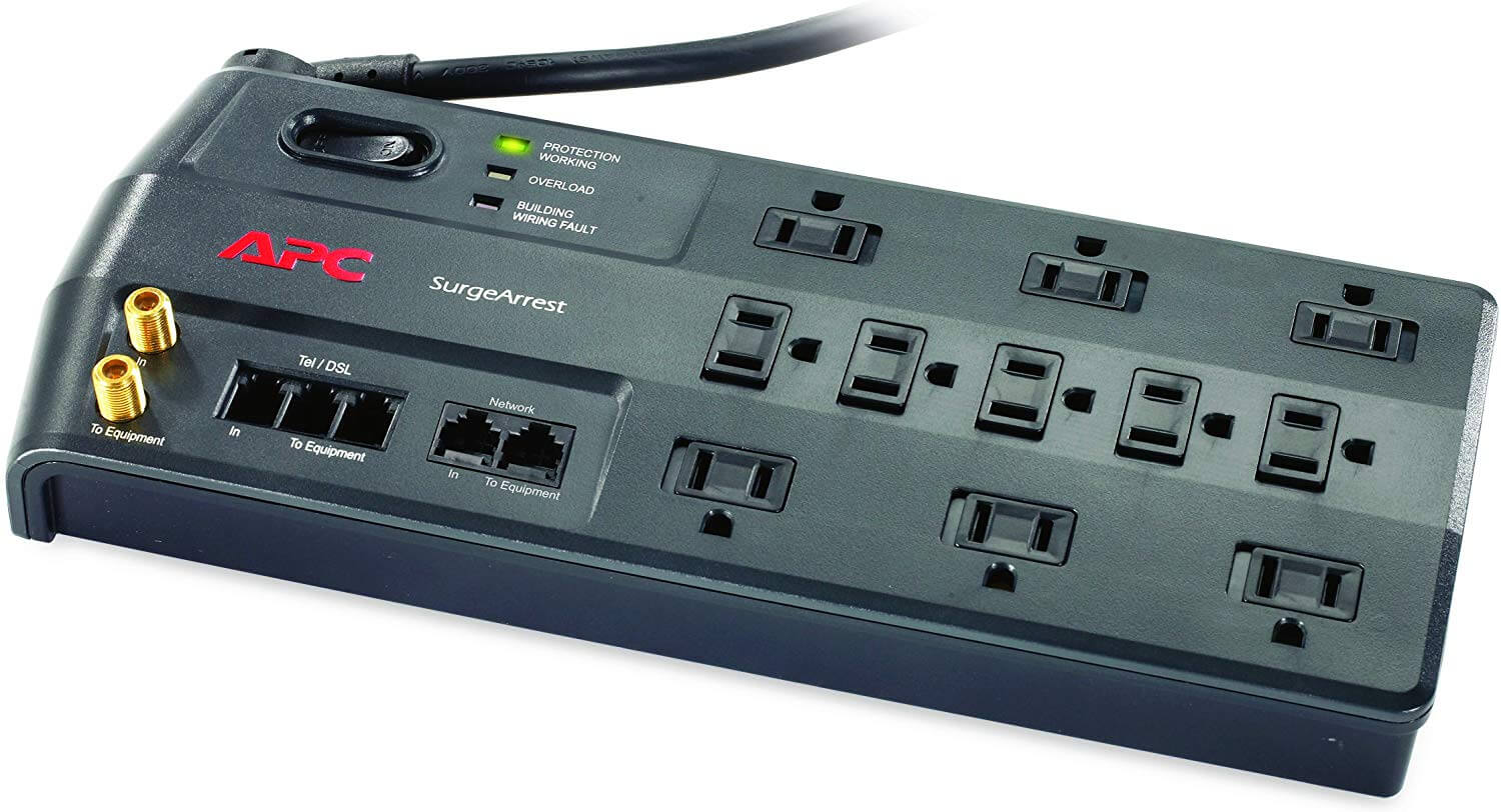 APC 11-Outlet Surge Protector