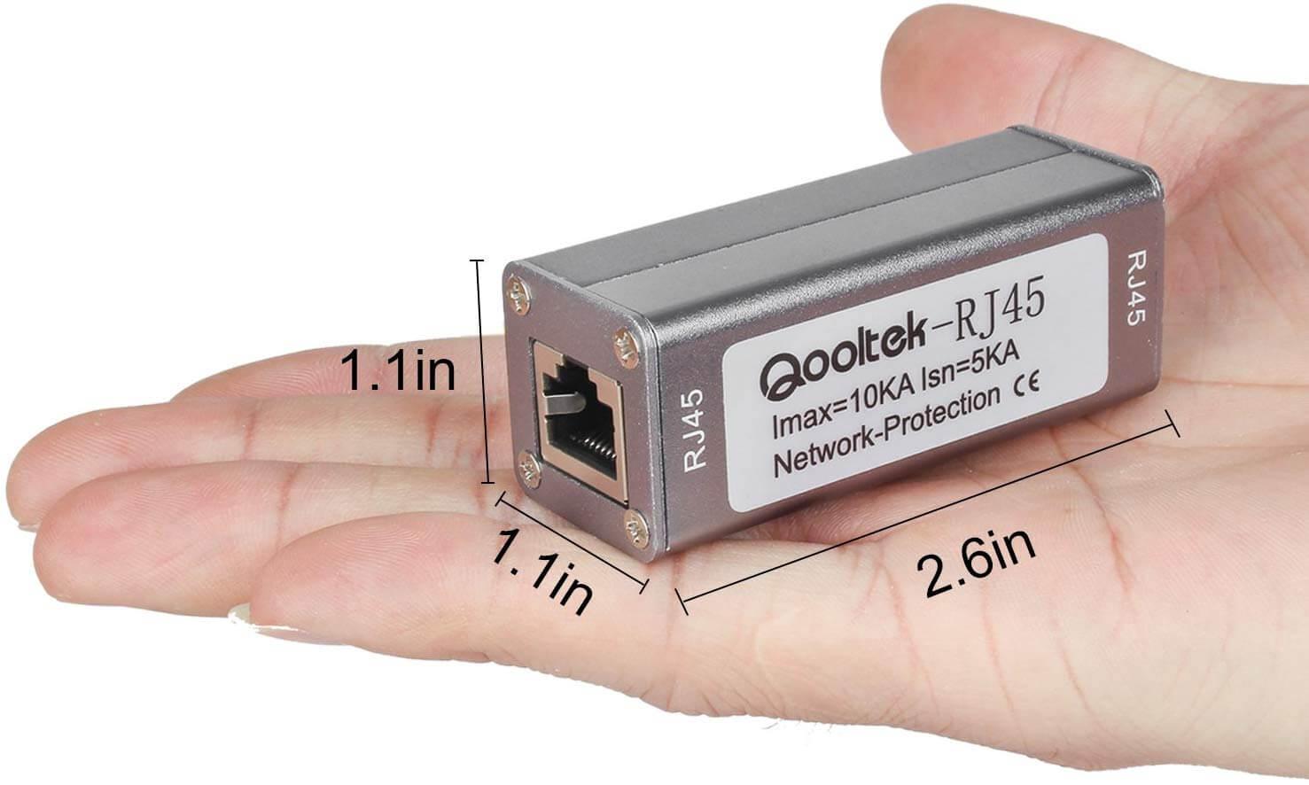 Qooltek ST-NET Ethernet Surge Protector