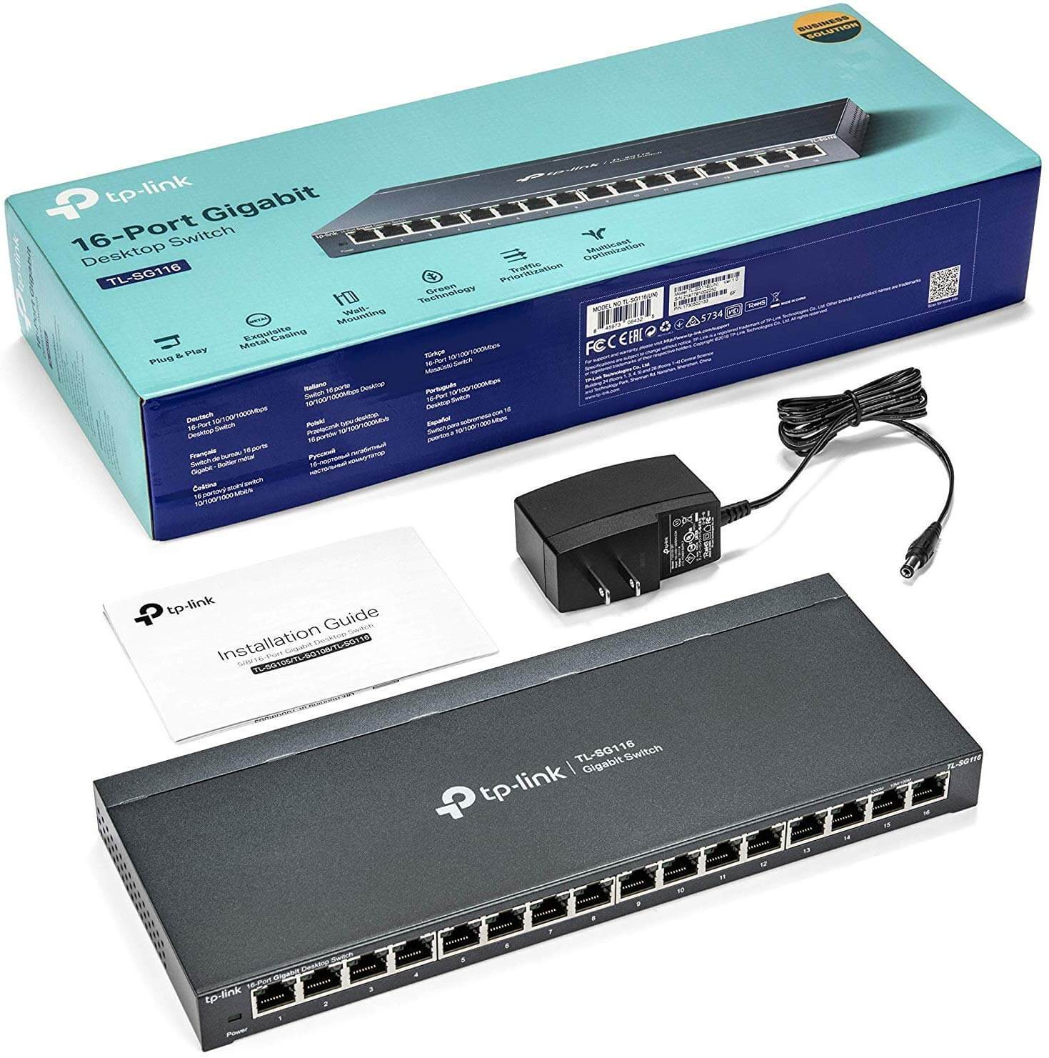 TP-Link 16 Port Gigabit Switch
