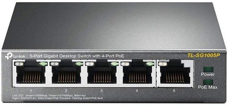 TP-Link 5 Port Gigabit PoE Switch