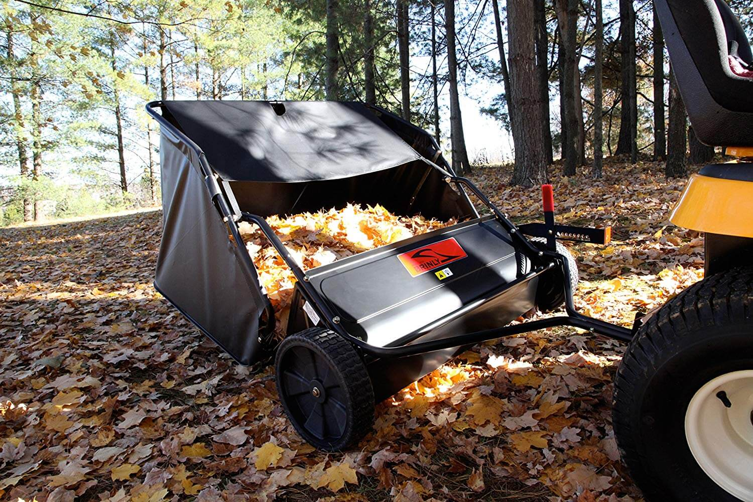 Brinly Lawn Sweeper reviews