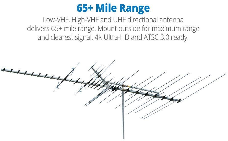 Winegard HD8200U Platinum VHF/UHF HDTV Antenna